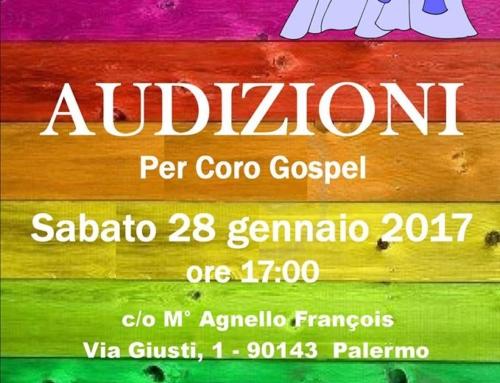 Audizioni per il Coro Gospel The Nightingales Singers Ensemble