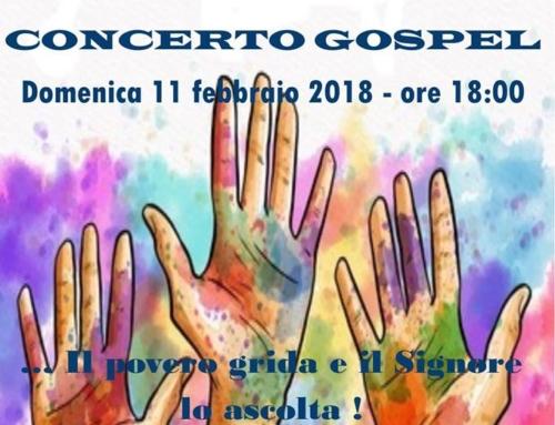 Concerto Gospel di beneficenza Chiesa di San Carlo Borromeo